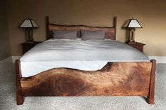 Live Edge Bed                                                                                                                                                                                 More