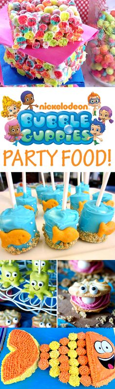 Goldfish marshmallow pops, M&M fish cupcakes, Mr. Grouper cupcake cake, goldfish cracker buffet and more! Third Birthday, 3rd Birthday Parties, Birthday Cupcakes, Baby Birthday, Birthday Nails, Birthday Ideas, Fish Cake Birthday, Birthday Recipes, Husband Birthday