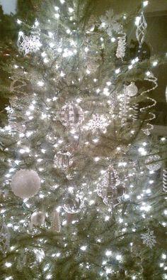 Silver & White Christmas Tree