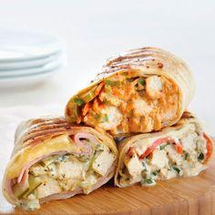 Grilled Chicken & Garden-Fresh Basil Wraps - The Pampered Chef®