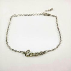 Silver or Gold Love Ankle Bracelet New silver plated love ankle bracelet...See all items for sale we have the latest in fashion clothing, swimsuits, jewelry, sunglasses, makeup and more! Follow us to stay with the latest fashions daily!  #flawlessfashions04 If you love these brands you will love ours too! Miss Me? MacToo faced? Lorac? Urban decay? Anastasia kylie jenner? Smashbox milani Matte Louis Vitton? cover girl Coach Michael Kors Gucci Rima Imar Jewelry Bracelets