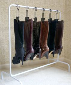 The Boot Rack™ (includes 6 Boot Hangers) – Boottique