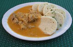 Segedinsky-gulas-recept Top Recipes, Snack Recipes, Snacks, Czech Recipes, Ethnic Recipes, Eastern European Recipes, Goulash, Seitan, Thai Red Curry