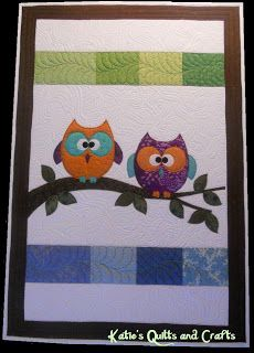 Owl quilt photo only