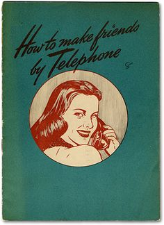 :: How to make friends by telephone ::