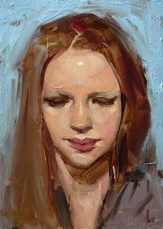 """Daily Paintworks - """"Averted"""" - Original Fine Art for Sale - © John Larriva"""