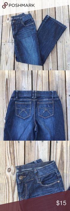 💋BOGO Curvy Dark Wash Jeans with Stretch These dark wash jeans have just the right amount of stretch. Comfy and well fitted, they make the perfect pair. Cotton and spandex blend. 20067 Jeans Boot Cut