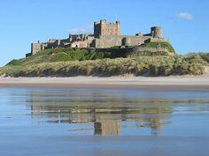 Bamburgh Castle►►http://www.castlesworldwide.net/castles-of-england/northumberland/bamburgh-castle.html?i=p