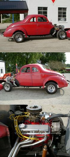 project 1940 Ford Coupe custom