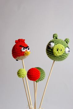 Custom your Birthday Cake Topper - Angry Birds cake topper - Birthday party's decoration - Personalized birthday cake decor