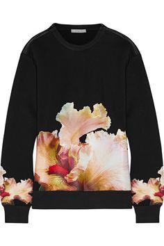 GIVENCHY Printed Jersey Sweatshirt. #givenchy #cloth #sweatshirt