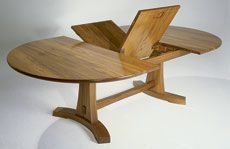 Preview - A Butterfly Expansion Table - Fine Woodworking Article