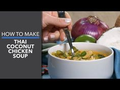 Thai Coconut Chicken Soup Recipe - Dr. Axe