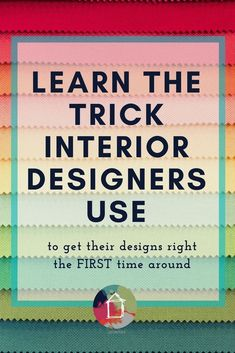 Beautiful Ever Wonder How Interior Designers Create Their Designs And Decide What Pieces Work Best Together