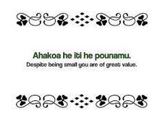 Maori Proverbs: Ahakoa he iti he pounamu. Despite being small you are of great value. Early Childhood Centre, Early Childhood Education, Maori Words, Maori Symbols, Proverbs Quotes, Maori Art, How To Make Light, Wall Quotes, Art For Kids