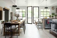Chic Soufflé: Una casa en el sur de California con toques industriales y vintage