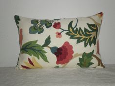 FREE DOMESTIC SHIPPING Decorative  Pillow Covers 12 x 18 inch  Floral Foliage. $28.00, via Etsy.