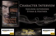 I'm celebrating the release of SHADOWS STRIKE with a big blog tour & #giveaway. Drop by From the TBR Pile, where Sheldon is interviewing Ethan and Heather, and enter to #win a $50 #Amazon #GiftCard, a $20 Amazon Gift Card, or a signed book of your choice from my backlist! • http://thesubclubbooks.com/character-interview-ethan-heather-from-shadows-strike-by-dianne-duvall/ • #NewRelease #MustRead #romance #humor #paranormal #vampire #fantasy