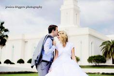 Orlando LDS Temple Wedding