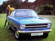 #Opel Kadett 2-door Sedan (B) '1965–73