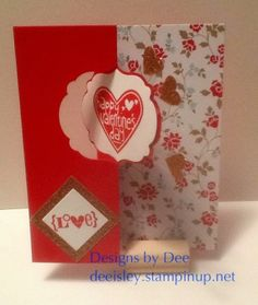 happy valentines day by deesunshine cards and paper crafts at splitcoaststampers