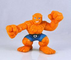 Marvel Super Hero Squad Super Heros Four The Thing Loose Action Figure ZX119 | eBay