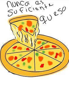 El que te tengo  Por  @  #pelaeldiente  #feliz #comic #caricatura #viñeta #graphicdesign #funny #art #ilustracion #dibujo #humor #sonrisa #creatividad #drawing #diseño #doodle #cartoon #queso #pizza