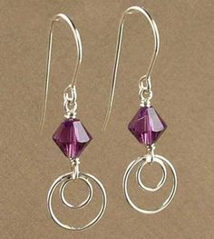 Exceptional Simply Modern Amethyst Earrings | Jewelry Design Ideas More