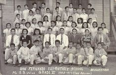 Grade 6, San Fernando Elementary School, Camarines Sur, 1941 #pinoy #classpicture #kasaysayan. San Fernando, Class Pictures, Pinoy, Filipino, Over The Years, Projects, Painting, Saints, Log Projects