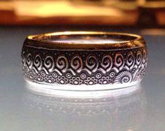 Hübsch handgefertigte kroatischen 25 Kuna-Münze-Ring Coin Jewelry, Jewelry Art, Jewelry Rings, Wedding Men, Wedding Rings, Custom Coins, Coin Ring, Aries Zodiac, Handmade Rings