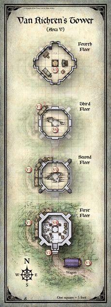 Curse of Strahd; Van Richten's Tower (Digital DM & Player Versions) $1.75