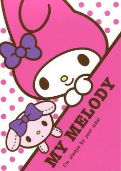 Melody...!!!!! lovee youuuuuu | bijak | Pinterest | My Melody and ...