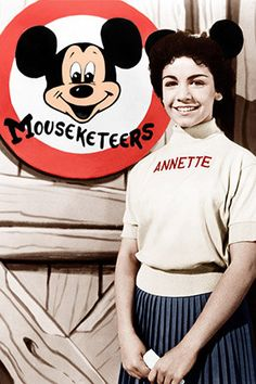 Annette Funicello The Mickey Mouse Club