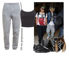 """""""Picking Justin Up From The Airport"""" by bizzle-blunt ❤ liked on Polyvore featuring Justin Bieber, 3.1 Phillip Lim, Jane Norman, NIKE, Rochas and JustinBieber"""