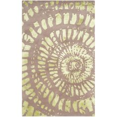 World Menagerie Camden Plum & Mist Area Rug Rug Size: