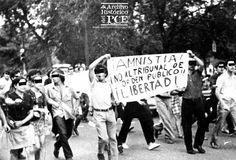 Manifestación contra el Tribunal de Orden Público, Avenida de Oporto, Madrid, 1970 | Archivo Histórico del PCE