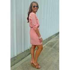Ritzy Resort-Peach Dress