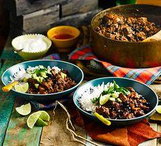 For a more authentic chilli with a depth of flavour, use diced belly pork, beef steak and pancetta and slowly simmer