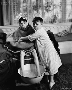 Spanky and Alfalfa in Canned Fishing