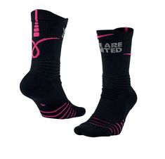 ddfdac13b NIKE Men's Basketball Elite Versatility Kay Yow Breast Cancer Socks Size S  NEW #Nike #