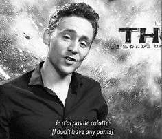 In Which Tom Hiddleston Tells You That He Loves You