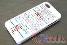 Twenty One Pilots Lyrics Holding On To You Case iPhone, iPad, Samsung Galaxy & HTC One Cases