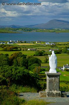 County Mayo, Ireland. At the base of Crough Patrick.