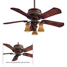 "-CF  Minka Aire 52"" Craftsman Ceiling Fan - F840-CF $480"