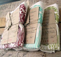 Tea towel packaging