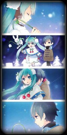 Snow Miku and Kaito (snow fairy story) part 4 / 5