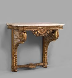 Console table 18th century Culture: French