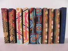 handmade book cover   MemphisWeaver memphisweaver.wordpress.com2816 × 2112Search by image triple chain stitch bookbinding- Google Search