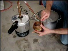 How to make moonshine whiskey at home using a pressure cooker still with video instructions, recipes, including a peach moonshine recipe and videos from Popcorn Sutton. Peach Moonshine, Moonshine Whiskey, Moonshine Recipe, Moonshine Kit, Homemade Moonshine, Beer Brewing, Home Brewing, How To Make Moonshine, Making Moonshine