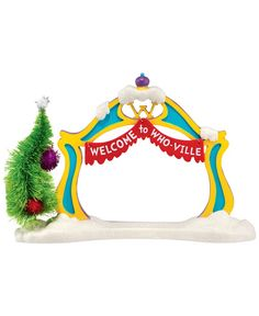 Department 56 Grinch Village Collection Grinch Archway